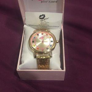 Brand New Betsy Johnson Watch